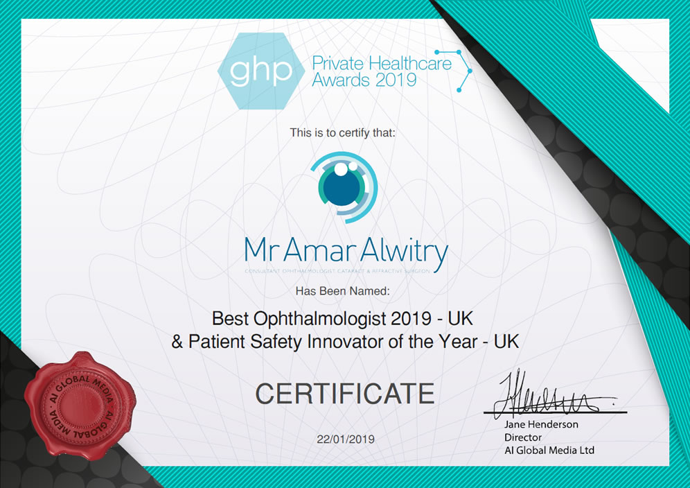 Best Ophthalmologist 2019